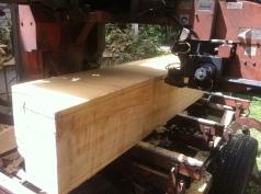 Milling cedar for Warré hives